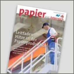 guide heat in paper production
