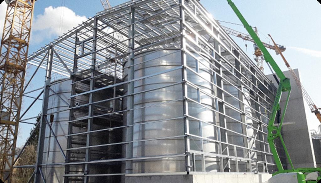 Hallein Bioethanolanlage
