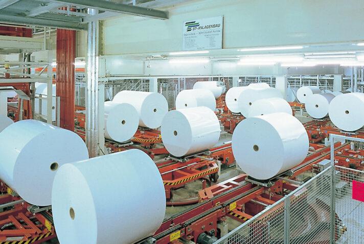 papierrollen sappi